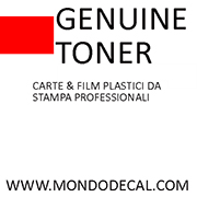 Logo genuine. toner / Mondodecal